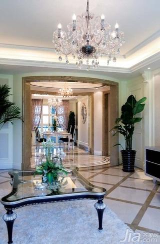 欧式风格别墅古典豪华型140平米以上客厅灯具效果图