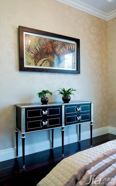 欧式风格别墅古典豪华型140平米以上卧室壁纸图片