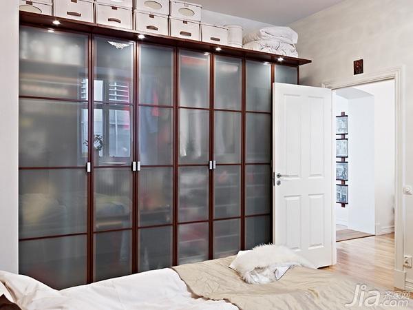北欧风格公寓经济型80平米卧室隔断设计图