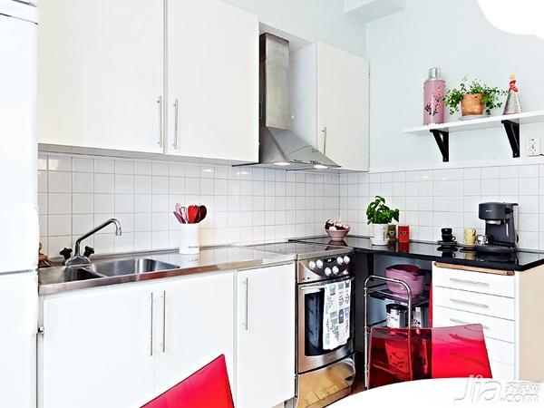 北欧风格小户型经济型40平米装修图片