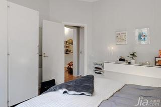 北欧风格小户型经济型50平米卧室衣柜设计图纸