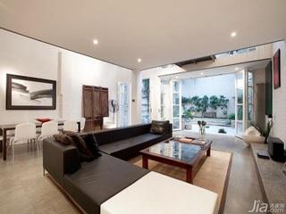 欧式风格别墅大气冷色调富裕型140平米以上客厅沙发效果图