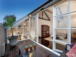 欧式风格别墅大气冷色调富裕型140平米以上露台装修效果图