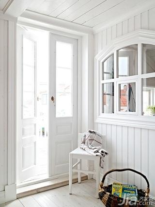 北欧风格别墅经济型140平米以上门厅隔断装修效果图