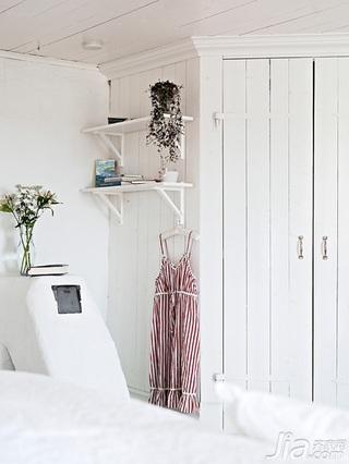 北欧风格别墅经济型140平米以上卧室衣柜设计图