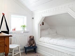 北欧风格别墅经济型140平米以上儿童房儿童床图片