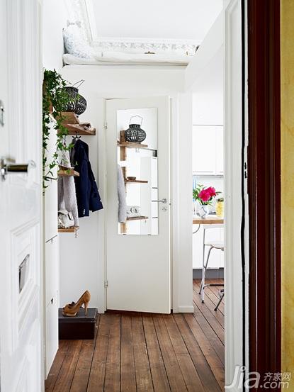 北欧风格小户型经济型门厅设计图纸