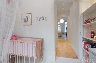 北欧风格公寓经济型80平米儿童房儿童床效果图