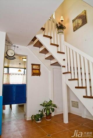 混搭风格复式15-20万120平米楼梯设计图