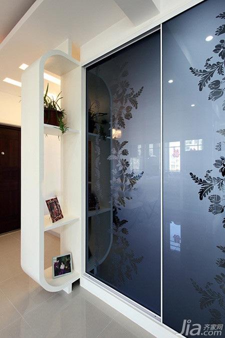 简约风格二居室经济型90平米效果图