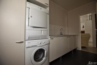 简约风格二居室经济型洗衣房设计图