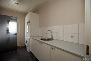 简约风格二居室经济型洗衣房设计