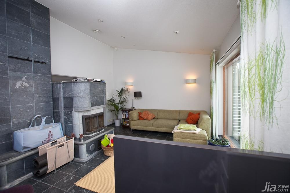 欧式风格别墅经济型客厅装修