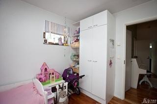 欧式风格别墅经济型儿童房衣柜设计图纸