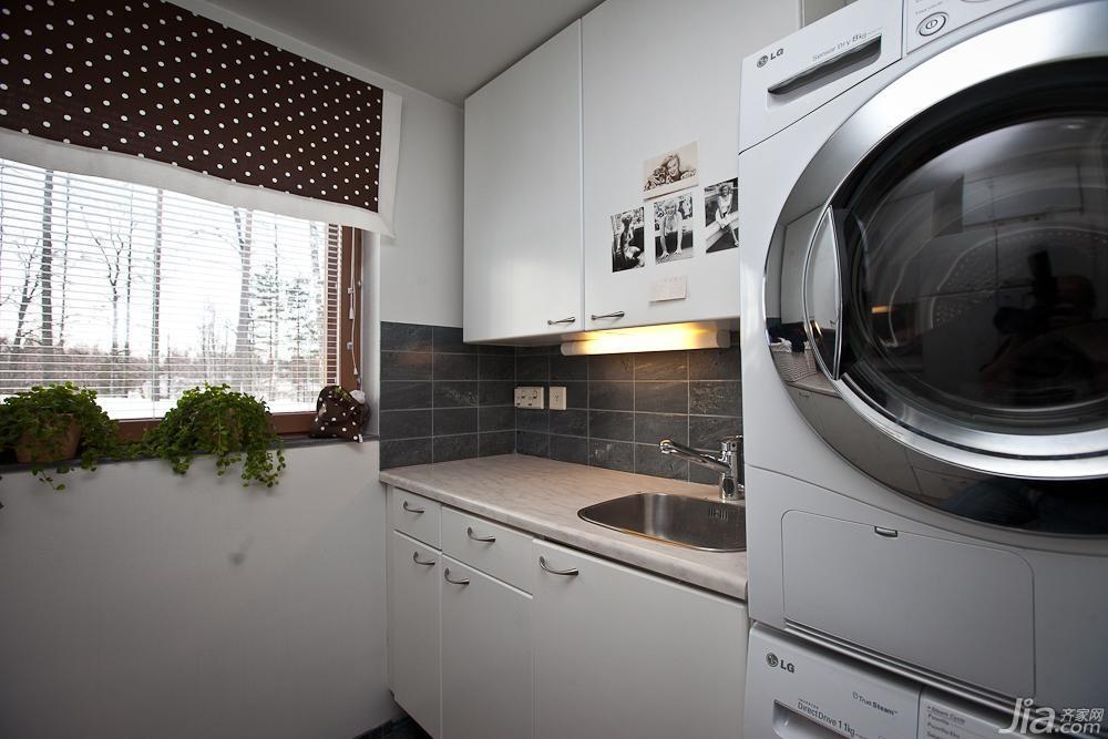 欧式风格别墅经济型洗衣房设计图纸