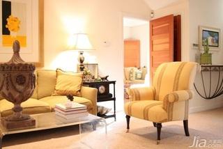 简约风格跃层温馨富裕型客厅沙发背景墙沙发效果图