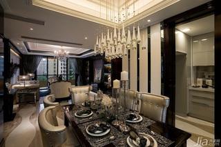 欧式风格三居室奢华豪华型130平米客厅电视背景墙沙发效果图
