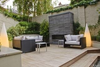 简欧风格别墅富裕型露台沙发效果图
