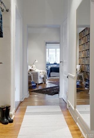 欧式风格公寓130平米门厅效果图