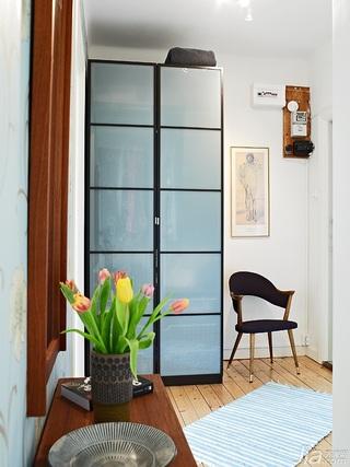 欧式风格公寓40平米衣柜设计图纸