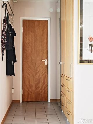 欧式风格公寓富裕型60平米门厅玄关柜图片