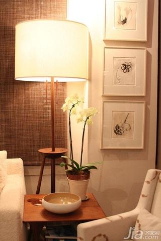 简约风格公寓富裕型120平米灯具效果图