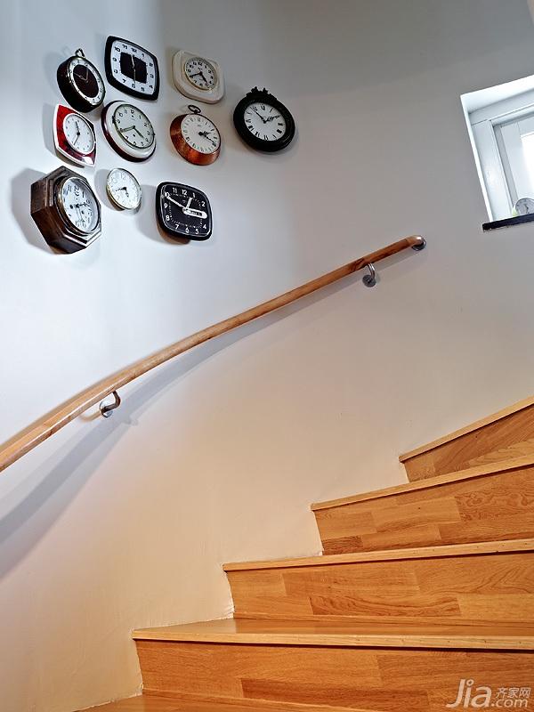 欧式风格公寓60平米楼梯设计图