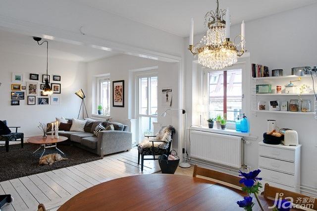 欧式风格公寓70平米装修效果图