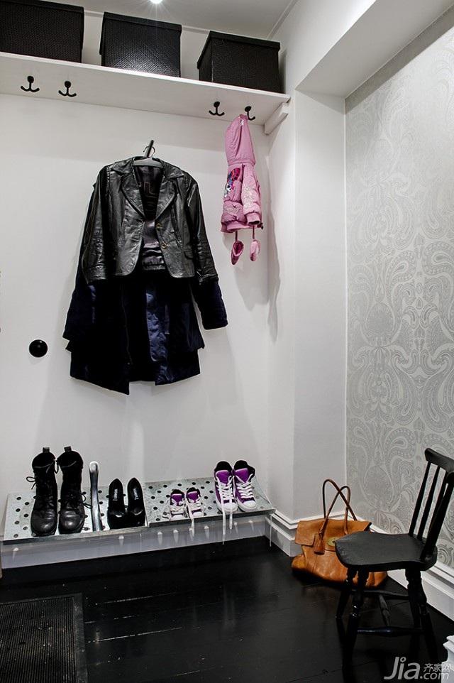 欧式风格公寓70平米衣帽间装修图片