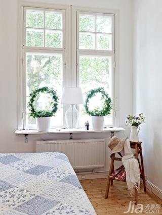 北欧风格公寓经济型50平米卧室灯具效果图