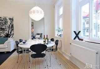 一居室富裕型餐厅灯具效果图