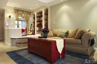 小户型客厅沙发茶几图片