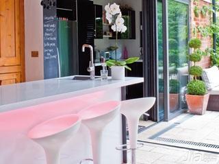 田园风格别墅富裕型140平米以上餐厅吧台装修效果图