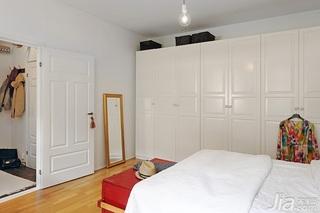 北欧风格公寓经济型60平米卧室衣柜设计图