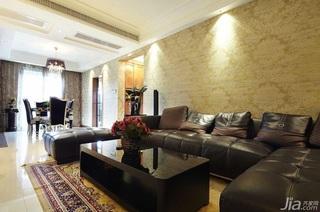 简约风格三居室简洁15-20万客厅沙发效果图
