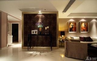 简约风格三居室简洁富裕型客厅客厅隔断沙发效果图