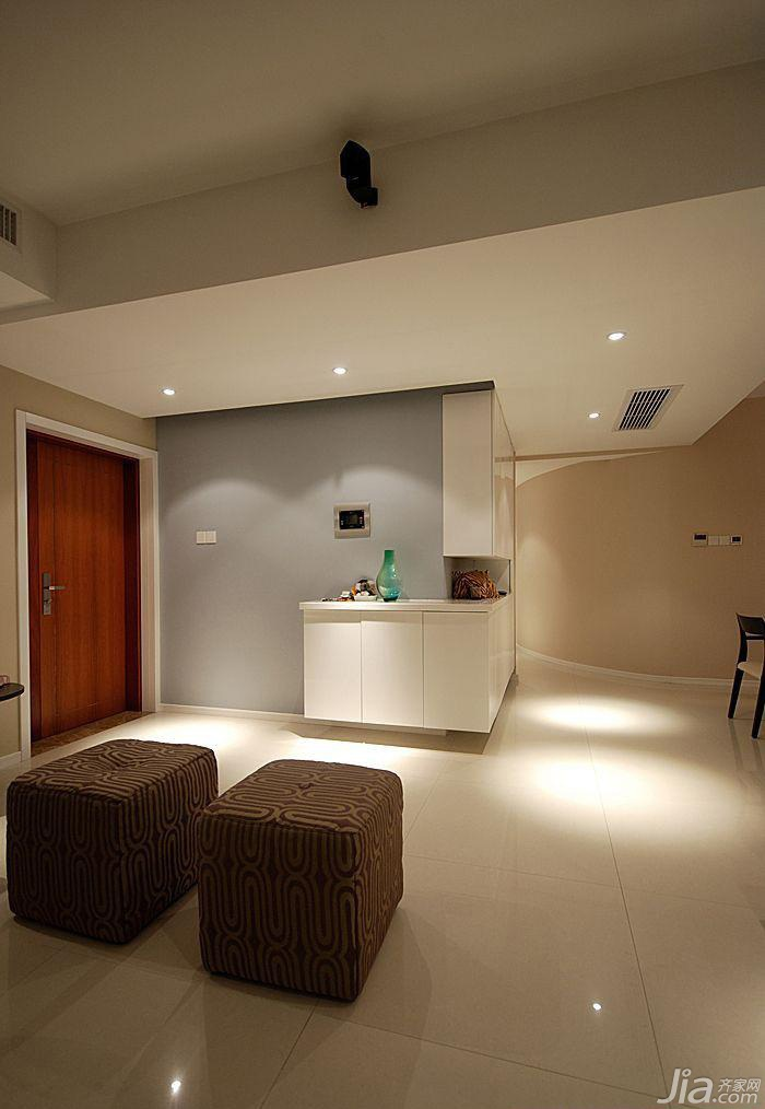 简约风格三居室富裕型玄关灯具图片