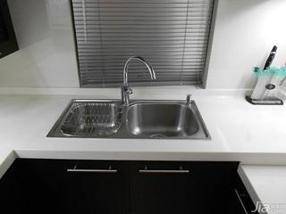 简约风格小户型经济型60平米厨房二手房设计图
