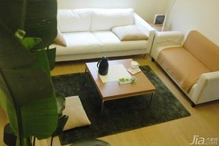 日式风格公寓经济型80平米客厅沙发效果图