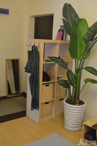 日式风格公寓经济型80平米玄关装潢