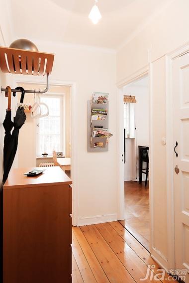 简约风格公寓经济型玄关鞋柜效果图