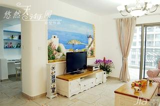 客厅电视背景墙电视柜效果图