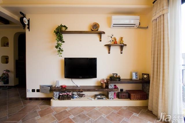 客厅电视背景墙设计图纸图片