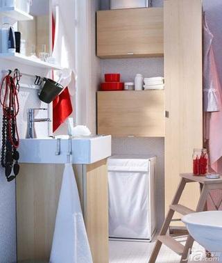 简约风格公寓经济型80平米卫生间洗手台效果图