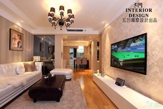 欧式风格公寓富裕型客厅茶几图片