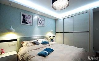 简约风格公寓卧室衣柜设计图纸