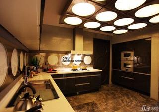 欧式风格豪华型厨房吊顶效果图