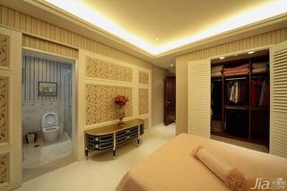 新古典风格别墅豪华型140平米以上卧室衣柜效果图