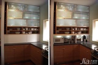 简欧风格复式富裕型厨房效果图