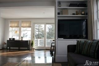欧式风格公寓富裕型电视柜效果图